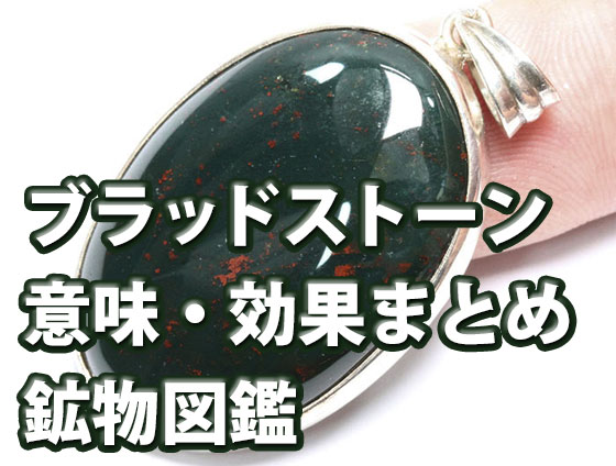 bhkjnl - ブラッドストーン【勇気と叡智の石】意味・効果・浄化方法(5つのまとめ)鉱物図鑑