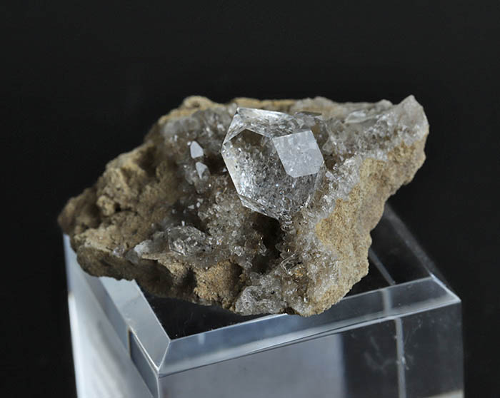 IMG 0373 - レアな母岩つきハーキマー、フランスフローライト、ヘリオドールなどのご紹介です♩